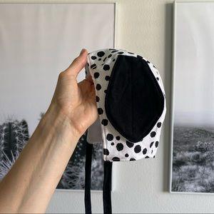 Dalmatian 0-3 months baby bonnet
